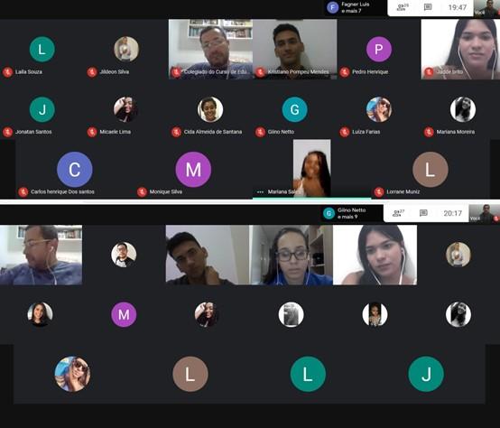 Encontro Virtual com os ingressantes 2020.1 - 09/07/2020